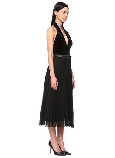 NetWork Abiye Elbise Siyah